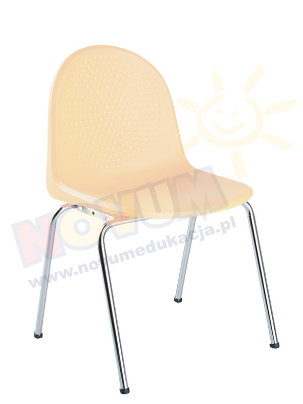 Krzesło AMIGO alu beżowe